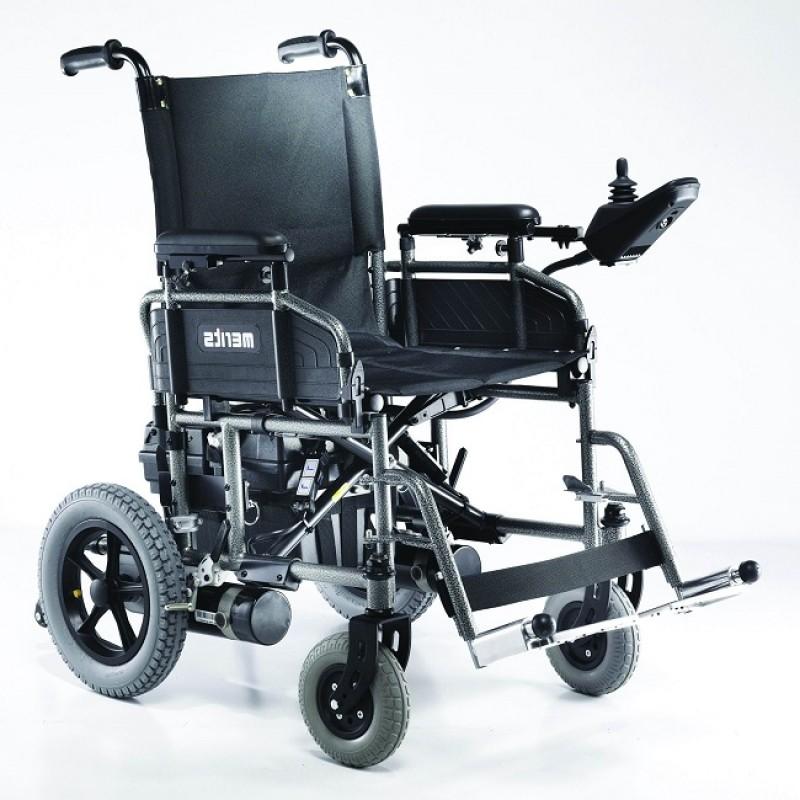 Merits Health Travel Ease Folding Power Chair Wheelchairs