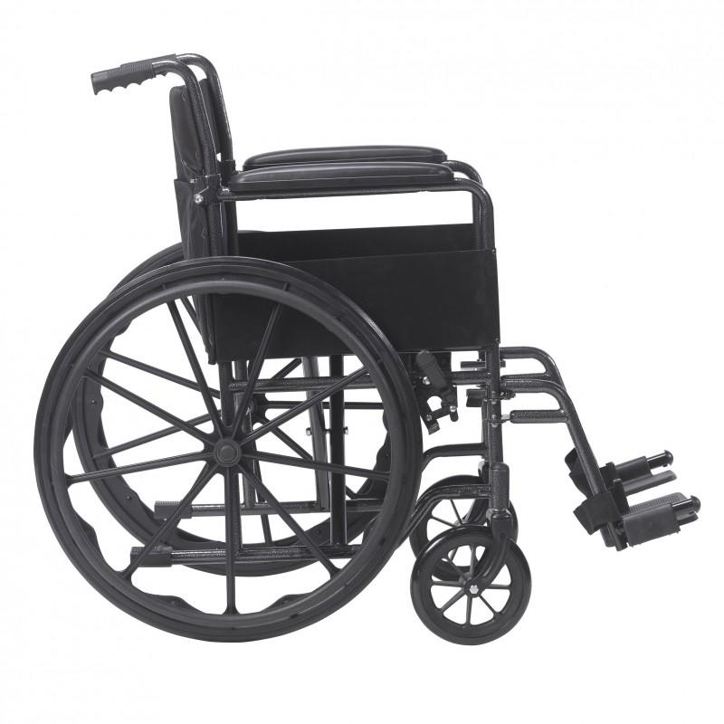Drive Medical Silver Sport 1 Wheelchair Wheelchairs