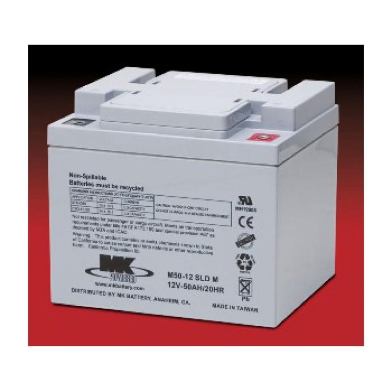 mk battery 12v 50ah sealed led acid batteries pair batteries chargers. Black Bedroom Furniture Sets. Home Design Ideas