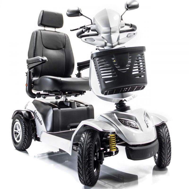 Merits health silverado 4 wheel scooter mobility scooters for Mobility chair