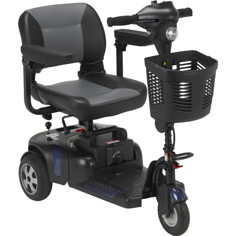 Drive Medical Phoenix Heavy Duty Travel 3 Wheel Scooter