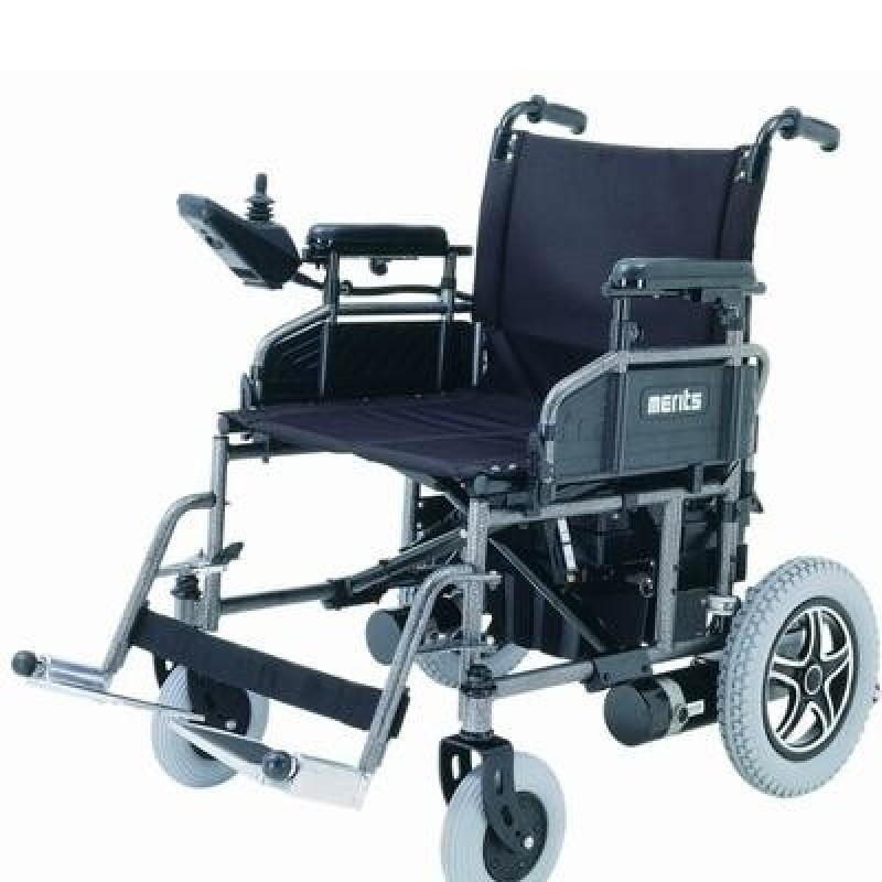 Merits Health Travel Ease Folding Power Chair Heavy Duty