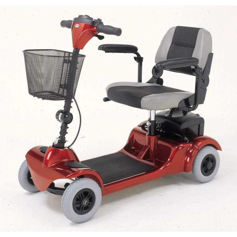 Merits health mini coupe 3 wheel scooter mobility scooters for Mobility scooter motors electric