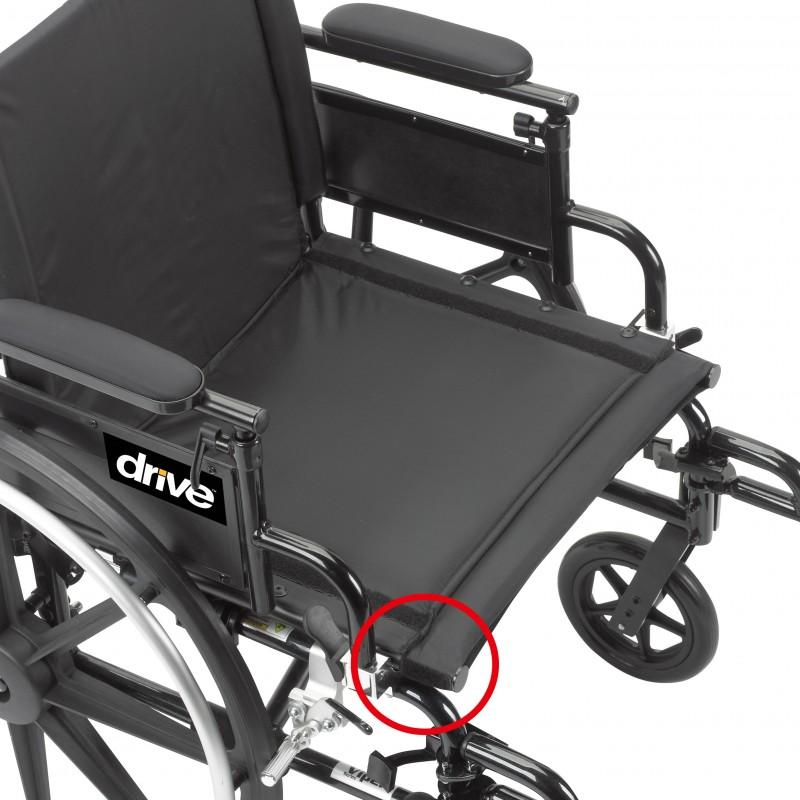 Drive Medical Viper Plus Gt Wheelchair Lightweight