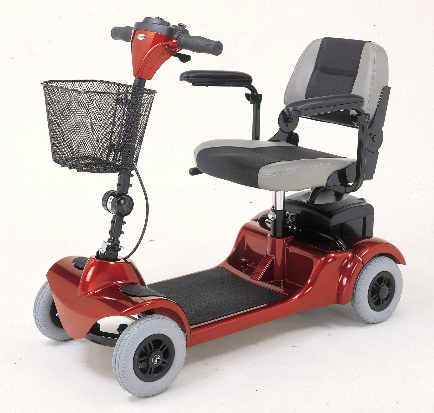 merits health mini coupe 3 wheel scooter 4 wheel travel. Black Bedroom Furniture Sets. Home Design Ideas