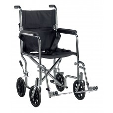 Go Cart Light Weight Transport Wheelchair with Swing away Footrest