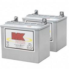 MK Battery 12V 32AH Sealed Led Acid Batteries (Pair)