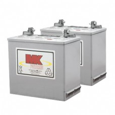 MK Battery 12V 50AH Sealed Led Gel Batteries (Pair)