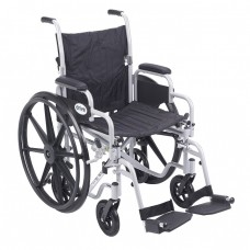 Drive Medical Poly-Fly Transport Wheelchair