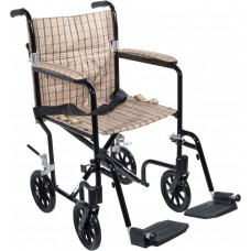 Drive Medical Deluxe Fly Weight Aluminum Transport Chair