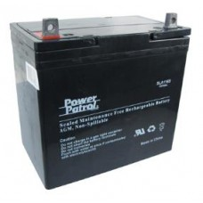 Interstate Batteries Power Patrol 12V 55AH Sealed Led Acid Batteries (Pair)