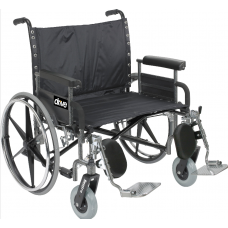 Drive Medical Bariatric Sentra EC Heavy-Duty Extra-Wide Wheelchair