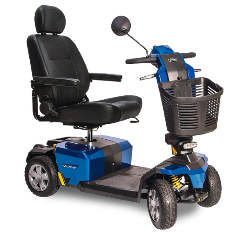 Pride Mobility Victory 10 Lx With Cts Suspension 4 Wheel