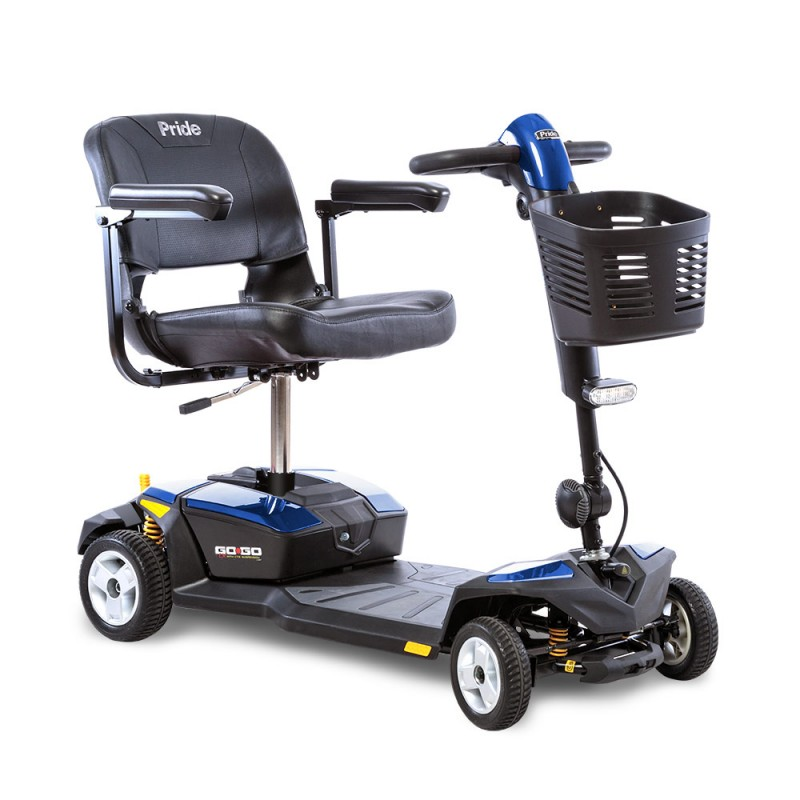 Pride Mobility Go Go Lx With Cts 4 Wheel Scooter